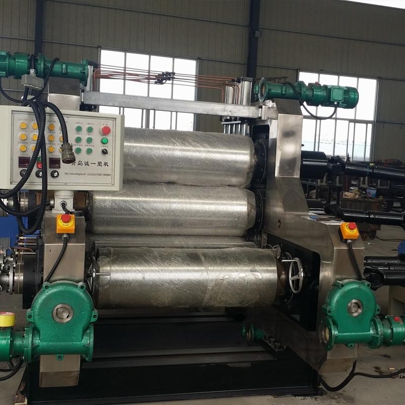 PVC五辊压延机生产线